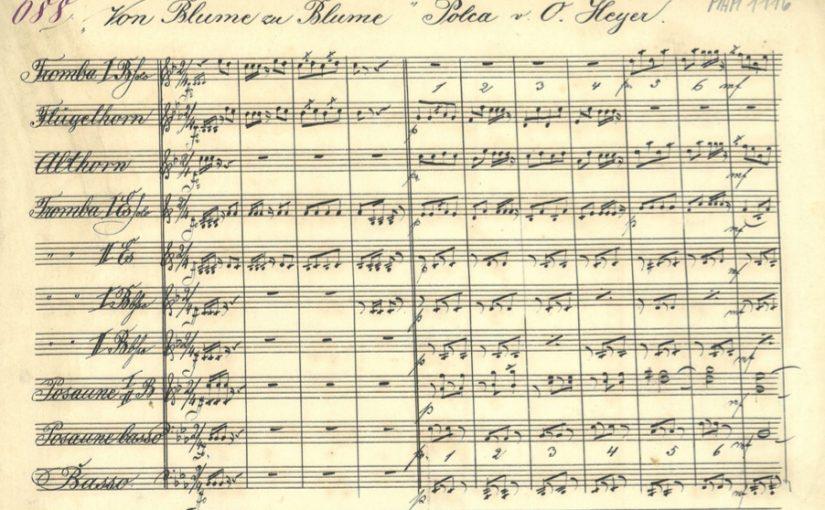 Aus den Notennachlässen der Musikerfamilie Fürst