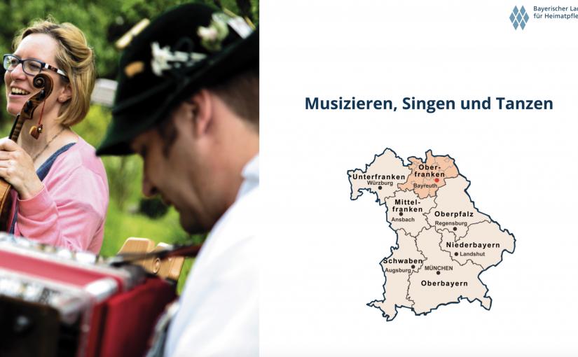 """Kulturvermittlung – Tanz """"Rheinländer"""" – """"Fränggischer Reggae"""""""